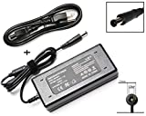 90W AC Adapter Power Supply Cord Laptop Charger for HP Pavilion Dv4 Dv6 Dv7 G50 G60 G60T G61 G62 G72 2000; EliteBook 2540p 2560p 2570p 2730p 2740p CQ40 CQ45 Cq50 Cq57 Cq58 Cq60 Cq61 Cq62