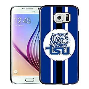 NCAA Tennessee State Tigers 5 Black Samsung Galaxy S6 Protective Phone Cover Case
