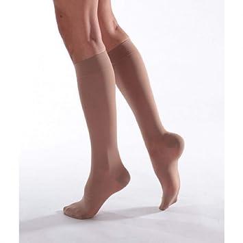 Calcetines de compresión (tipo calcetín para) clase 2 2 Talla normal terra/2: Amazon.es: Salud y cuidado personal