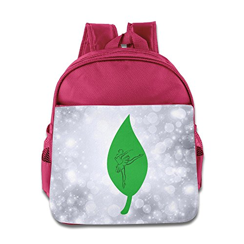 MEGGE Dancers On The Leaves Beautiful Backpack Pink