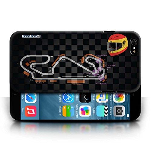 Etui / Coque pour Apple iPhone 6/6S / Espagne/Catalogne conception / Collection de 2014 F1 Piste