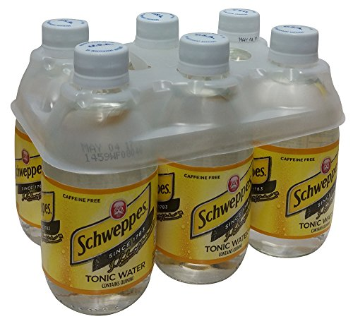 Water Quinine (Schweppes Tonic Water, 33.8 Fl Oz (Pack of 6))