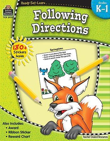 RSL: Following Directions Workbook (Gr. K 1)