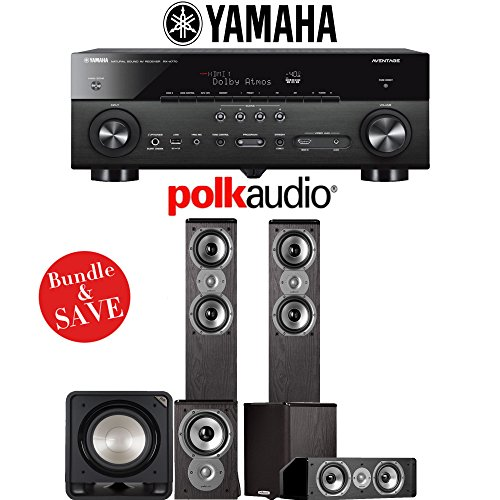 Polk Audio TSi 300 5.1-Ch Home Theater Speaker System with Y
