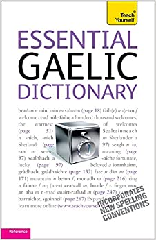 Book Essential Gaelic Dictionary: Teach Yourself