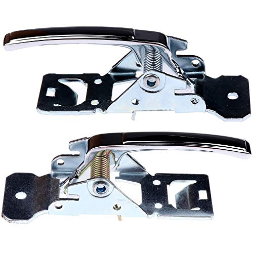 nterior Front Driver Passenger Side Replacement fit 1975-1981 Chevrolet Camaro Pontiac Firebird Inside Door Handles(2pcs) ()