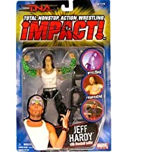 TNA: Impact Series 2 > Jeff Hardy (White Tank Top) Action Figure by Toy Rocket