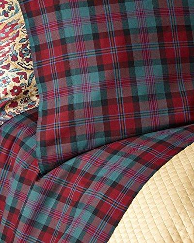 Ralph Lauren Plaid Fabric - Ralph Lauren Home Ardmore King Pillowcases -Ardmore Tartan
