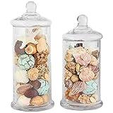 Apothecary Jar 2 Piece Set, Wedding Candy Buffet