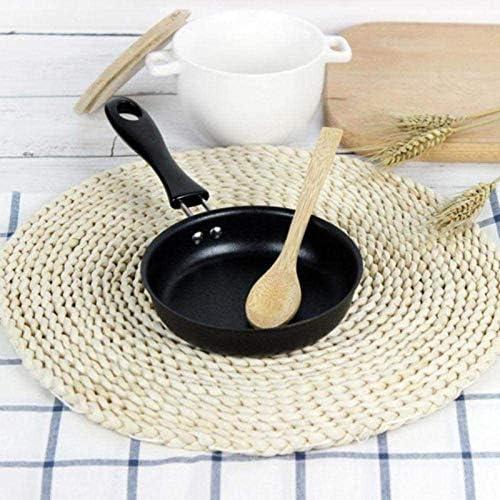 12cm Mini Egg Frying Pan Non Stick Omelette Petit déjeuner à fond plat Maker Pan Cuisine portable Petit cuisson des oeufs outil Xping