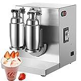 Happybuy 400r/min Milk Tea Shaker, 17x15x17, Sliver