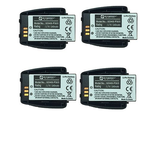 Vtech VCS704-WM Cordless Phone Battery Combo-Pack includes: 4 x SDHS-P905 Batteries