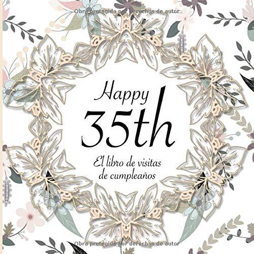 El Libro de Visitas de Cumpleaños: 35 Años I Elegante ...