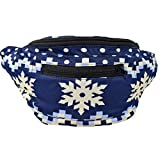 The Festive Fanny Pack, Holiday Season Boho Chic Handmade w/Hidden Pocket