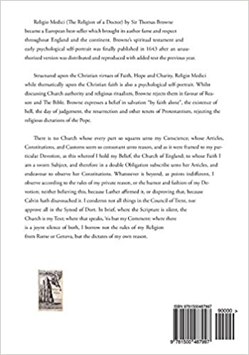Religio Medici: The Religion of a Doctor: Sir Thomas Browne ...