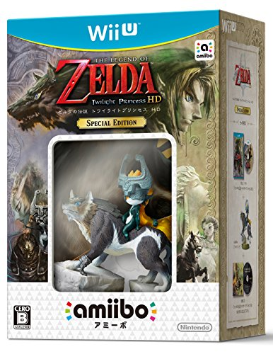 Zelda's legend Twilight princess HD SPECIAL EDITION (Zelda Twilight Princess Hd Wii U Amiibo)