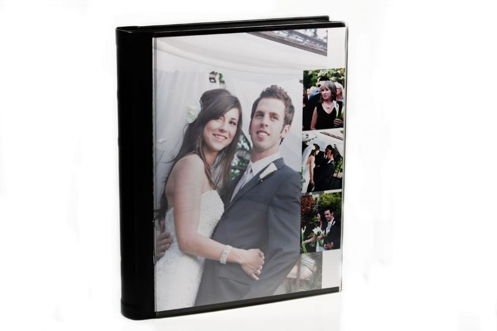 11 X 14, Acrylic Cover, Self Mount Adhesive Albums, 15 Pages (30 Sides) by Showoff Albums