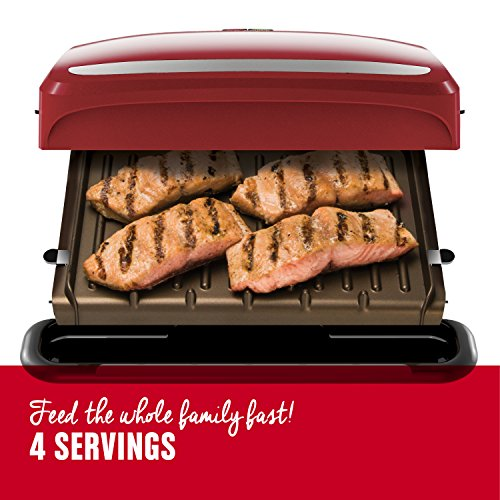 George Foreman Plate Grill and Press, GRP360R