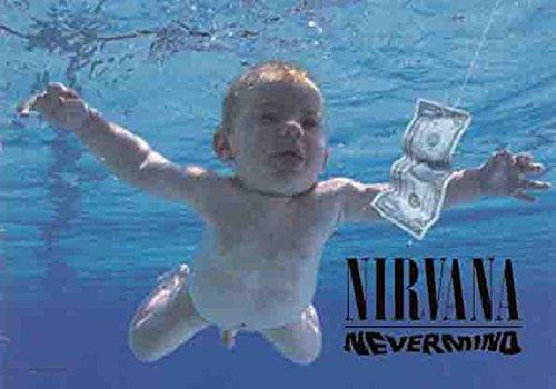 Nirvana Nevermind Official Textile Flag - Textile Nirvana