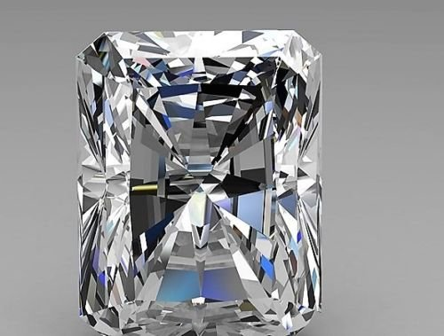 2.6ct 7mmx9mm RECTANGLE RADIANT Cut stone. Outshines Diamonds and Moissanite,Loose stone