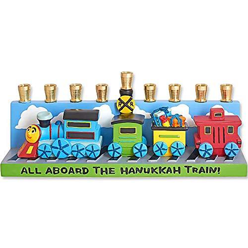 Train Menorah - 1