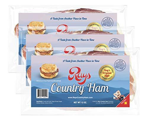 Ray's Country Ham - 2 1/4 lb. 3-Pack - Blue Ridge Mountain -