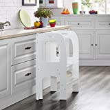 Naomi Home Kids On the Rise Step Stool White