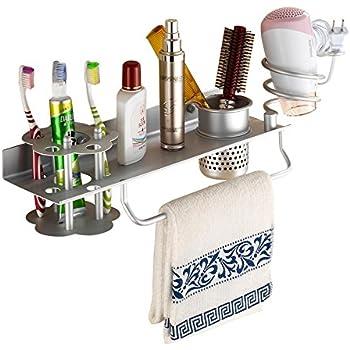 Amazon Com Bathroom Hair Dryer Holder Hair Blow Dryer