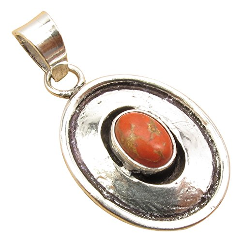Simple Oval Shape Pendant, 25 Color ! 925 Sterling Silver Plated Original Gemstones Fine Jewelry