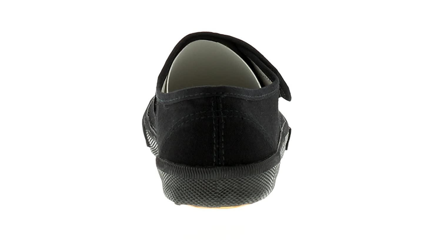 485a79077a8e Wynsors New Childrens Black Touch Fasten School Pumps (Please Note Sizes 5-3)  - Black - UK Sizes 1-13  Amazon.co.uk  Shoes   Bags