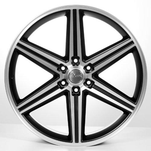 Amazoncom 24 Iroc Black Wheels Tires Pkg Fits On 5 And 6 Lug
