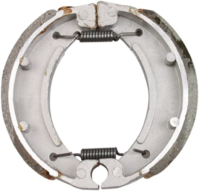 GOOFIT Motorcycle Rear Drum Brake Shoe for 50cc 70cc ATV Engine Based Scooter