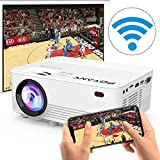 Best iPhone Projectors - [WiFi Projector] POYANK 2000Lumens LED Mini Projector, WiFi Review