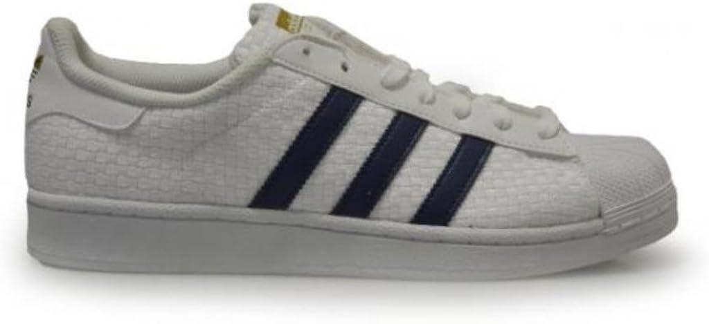 adidas Mens - Superstar - White Blue