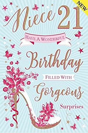 To a special niece 21st birthday card amazon kitchen home to a special niece 21st birthday card bookmarktalkfo Choice Image
