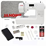 Janome DC1018 Sewing Machine with Bundle