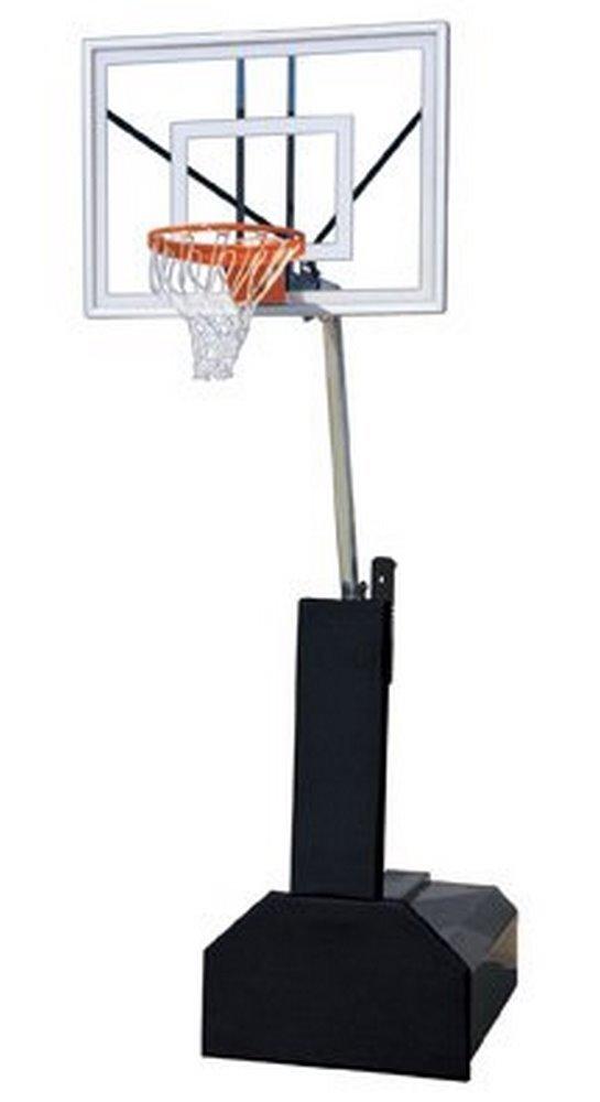 First Team Thunder Ultra steel-glassポータブルバスケットボールsystem44 ;スカーレット B01HC0B6NA