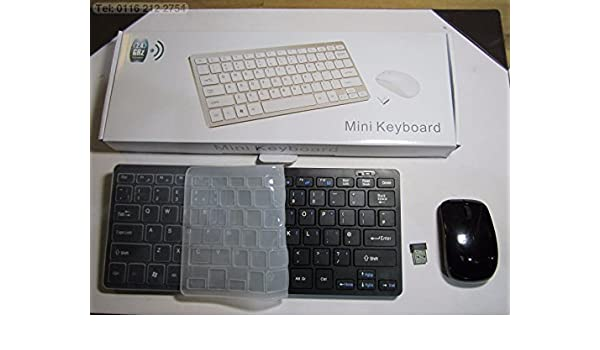 Mini teclado inalámbrico y ratón para SMART TV TOSHIBA 40RL938: Amazon.es: Electrónica