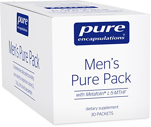 Pure Encapsulations - Men's Pure Pack - Multivitamin/Mineral Complex with Added Magnesium and Vitamin D3-30 Packets