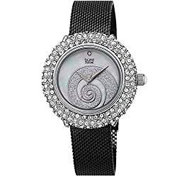 Swarovski Encrusted Crystals Women's Watch