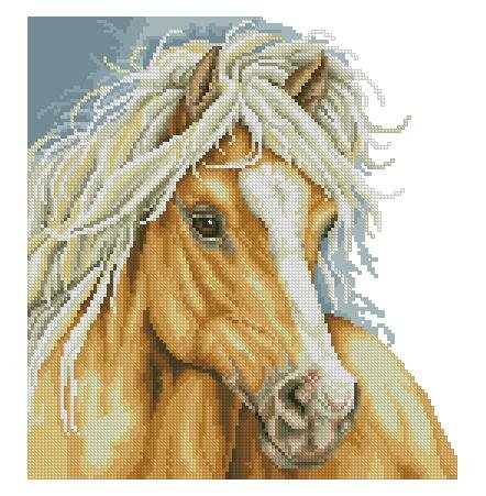 - A horse counted cross stitch kits 130x140 stitch34x36 cm counted cross stitch kits