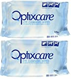 Optixcare Eye Cleaning Wipes (50 count) 2 Pack