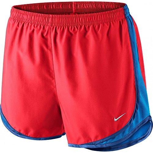 Nike Women's Tempo Short, Bright Crimson/Light Photo Blue/Wolf Grey XS X 3.5 ()