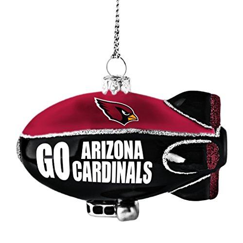 NFL Arizona Cardinals Glitter Blimp Ornament