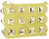 Betsey Johnson BH96105 Cross Body,Yellow,One Size, Bags Central