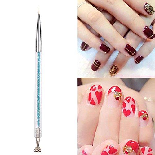 Best Nail Art Pen Winnereco Dual Head Nail Art Pen Liner Diy 3d