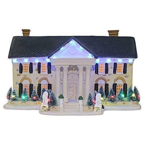 Elvis Presley® Graceland Musical and Illuminated Replica House