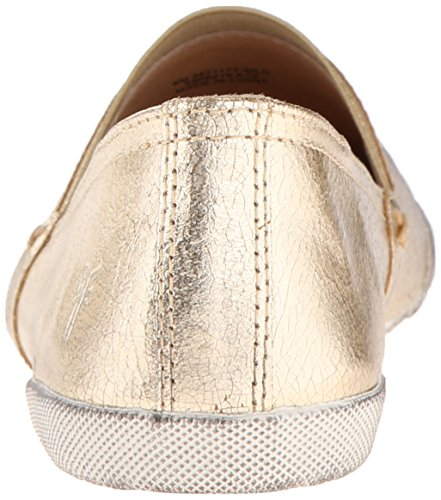Gold Slip On Leather Sneaker Metallic Women's Melanie Fashion Frye 6Eq4nYawt