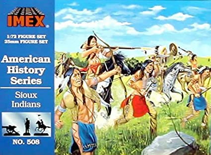 Imex 508 1/72 Sioux Indians IMXS0508