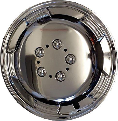 4/x Chrom 38,1/cm Extra Deep Dish Van Radzierblenden Radkappen f/ür Renault Master